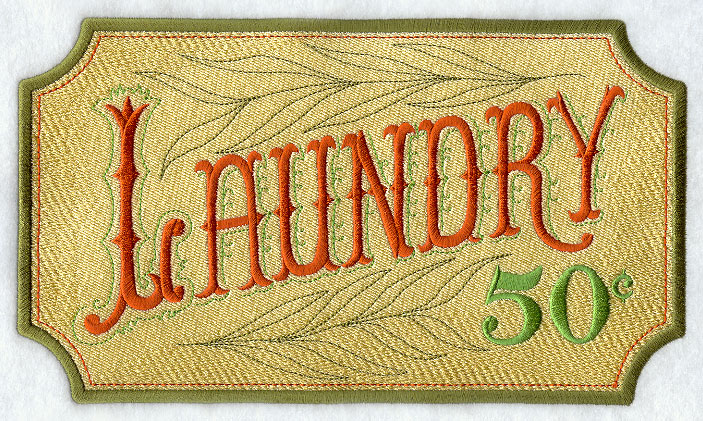 Old Laundry Signs Amazing Machine Embroidery Designs At Embroidery Library  Embroidery Library 2017