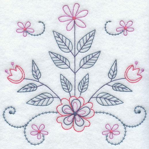 Embroidery designs running stitch makaroka