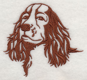 english springer spaniel silhouette