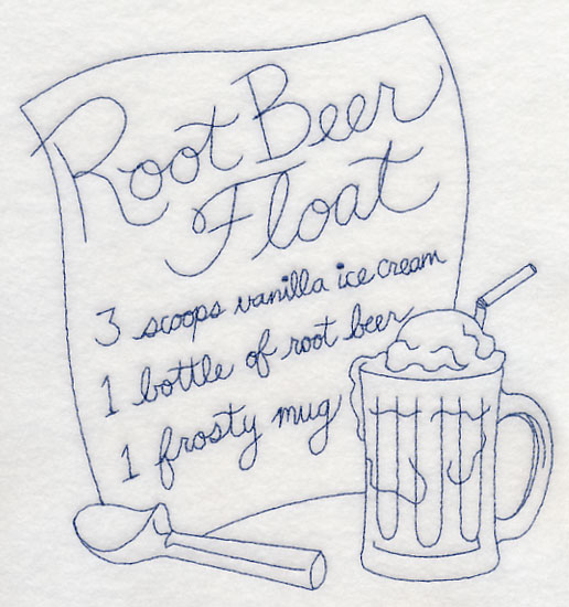 root beer float coloring pages - photo#1