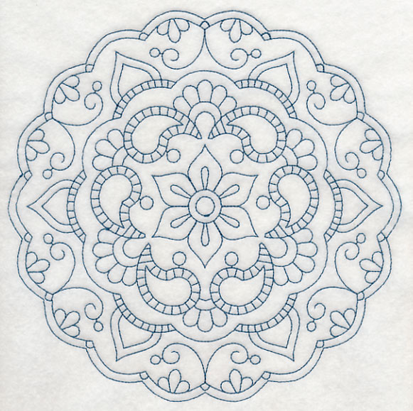 Machine Embroidery Designs At Embroidery Library  Mehndi