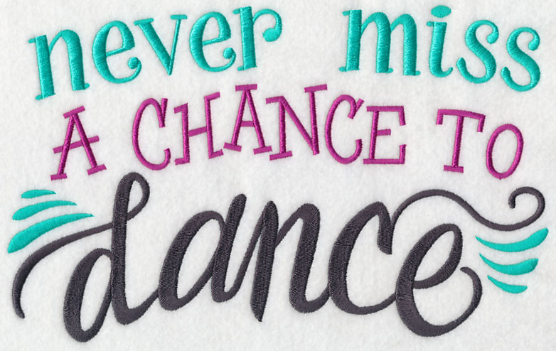 Never Miss A Chance Lo Sabes