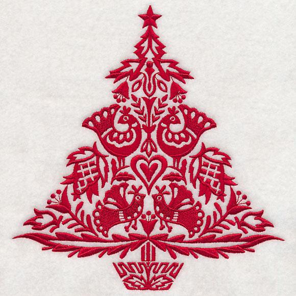 Swedish Christmas Tree Cake