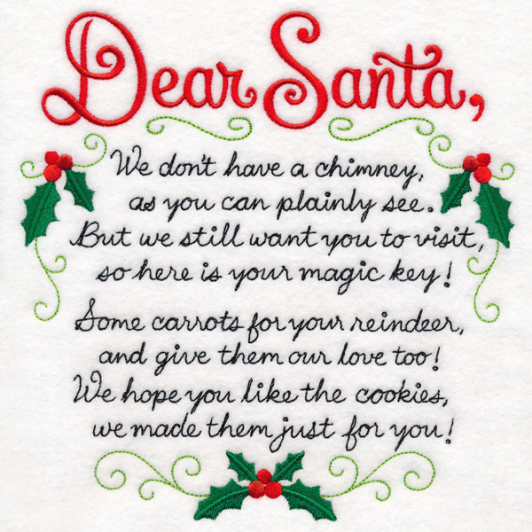 Santa's Magic Key Poem