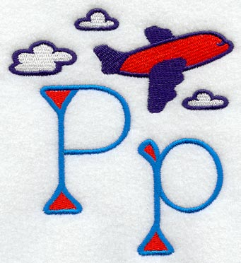 P Alphabet Design My First Alphabet Letter P
