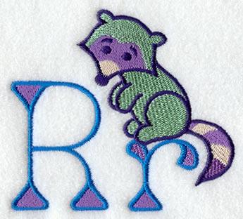 R Alphabet Design My First Alphabet Letter R