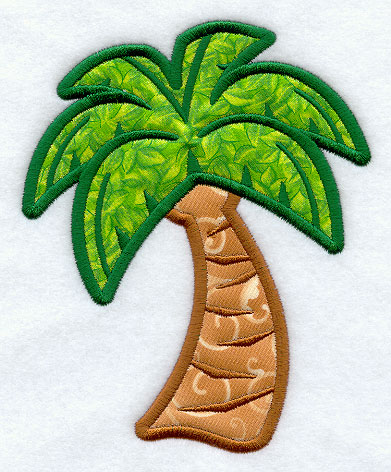 Machine Embroidery Designs at Embroidery Library! - Palm Tree