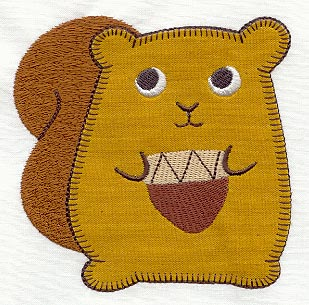 Machine Embroidery Designs at Embroidery Library! - Sew Sweet Squirrel