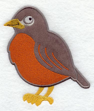 Robin applique
