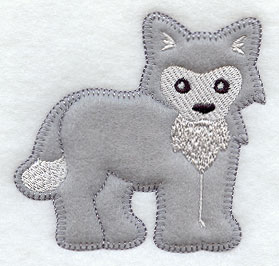 Popular items for wolf applique on Etsy