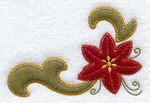 'POINSETTIA' APPLIQUE QUILT KIT BY BRENDA YIRSA | eBay