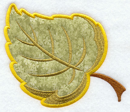 Swirls and Sprinkles: Leaf Applique - blogspot.com