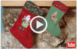 Free video featuring twelve differnet Christmas projects sure to inspire.