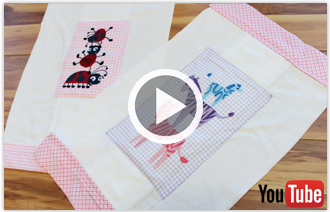 Free project instructions on how to create burp cloths out of cloth diapers.