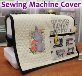Sewing Machine Cover Project Tutorial