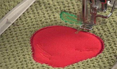 Free project instructions for machine embroidery applique