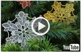 Free video with instructions on how to embroider using metallic thread.