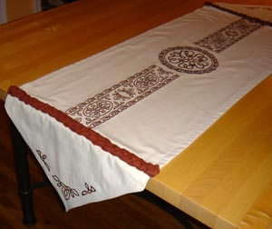Table Runners Are A Wonderful Way To Showcase Your Embroidery And Dress Up Home Decor