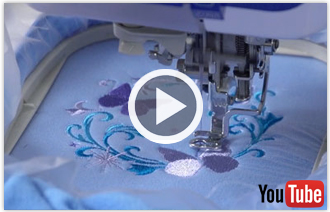 Free video with instructions on how to embroider on fleece.