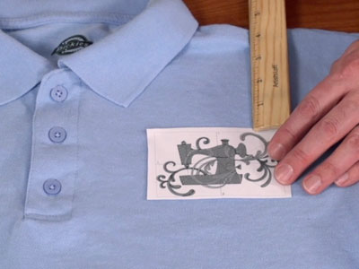 Free project instructions to embroider on pique.