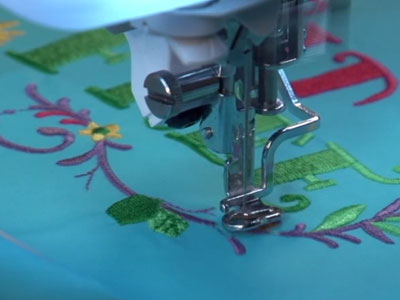 Fabrics 101: Embroidering on Nylon