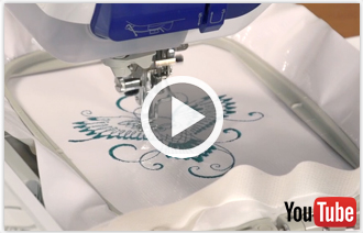 Free video with instructions on how to embroider on oilcloth.