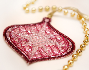 Embroidery Library - In-the-Hoop Mylar Ornaments