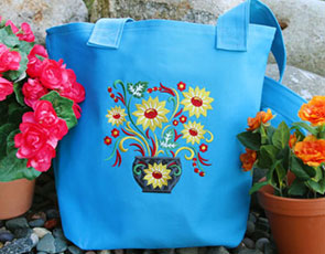 Embroidery Library - Classic Tote Bags