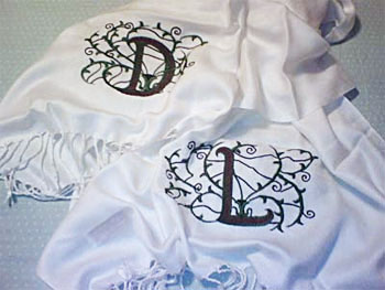Creative Monogramming with Machine Embroidery