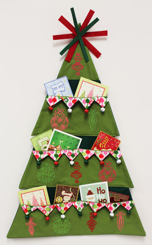 Machine embroidery designs at embroidery library embroidery library free project instructions to make an embroidered christmas tree card holder negle Images