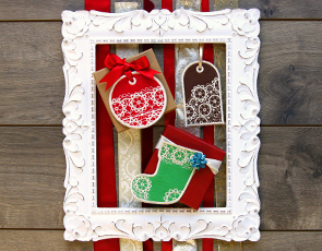 Embroidery Library - In-the-Hoop Gift Tags