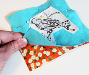 Free project instructions to make embroidered hand warmers.