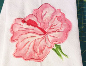 Free project instructions to combine fabric paint and embroidery for a unique look!