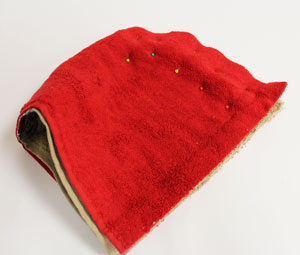Free project instructions for an embroidered hooded bath towel