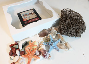 Free project instructions to make a shadow box