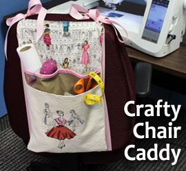 Crafty Chair Caddy Project Tutorial