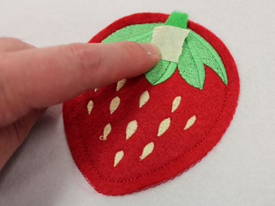 Free project instructions to embroider in-the-hoop crafty pincushions.