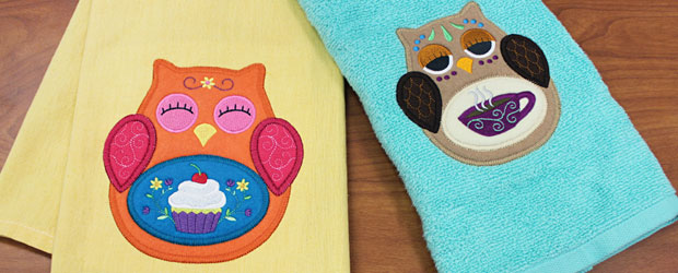 Free project instructions for stitching a multi-piece heirloom applique designs