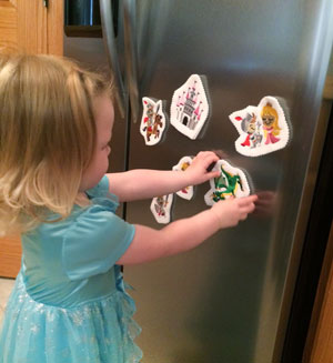 Free project instructions to make magical magnets!