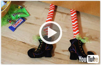 Free video with instructions on how to create in-the-hoop boots.