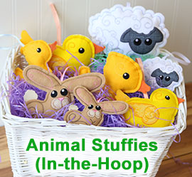 Easter Stuffies Project Tutorial