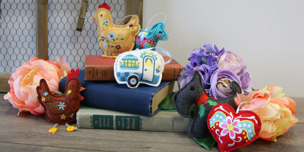 Free project instructions to create an in-the-hoop crafty cut stuffie.