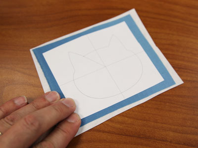Free project instructions to embroider peeking bookmarks, in-the-hoop.