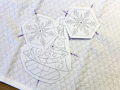 Free project instructions to embroider crafty cut applique with organza.
