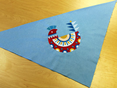 Free project instructions to create a flannel throw blanket.