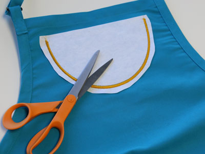 Free project instructions to create embroidered pockets, In-the-Hoop.