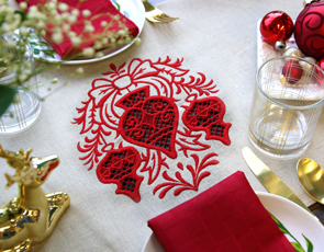 Embroidery Library - Christmas Cutwork