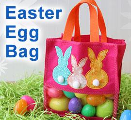 Easter Egg Bag Project Tutorial