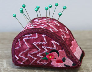 Embroidery Library - Hedgehog Pincushion, (In-the-Hoop)