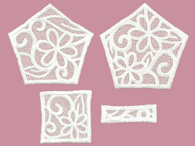 Free project instructions to create a Freestanding Lace Jewelry Box.